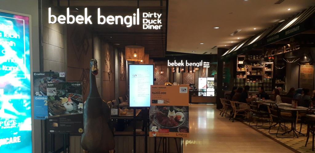 Bebek Bengil Plaza Indonesia - Jakarta Pusat