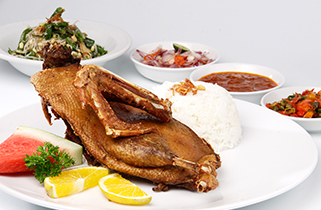 Duck Bengil from Ubud, Crispy Duck Shake Your Tongue