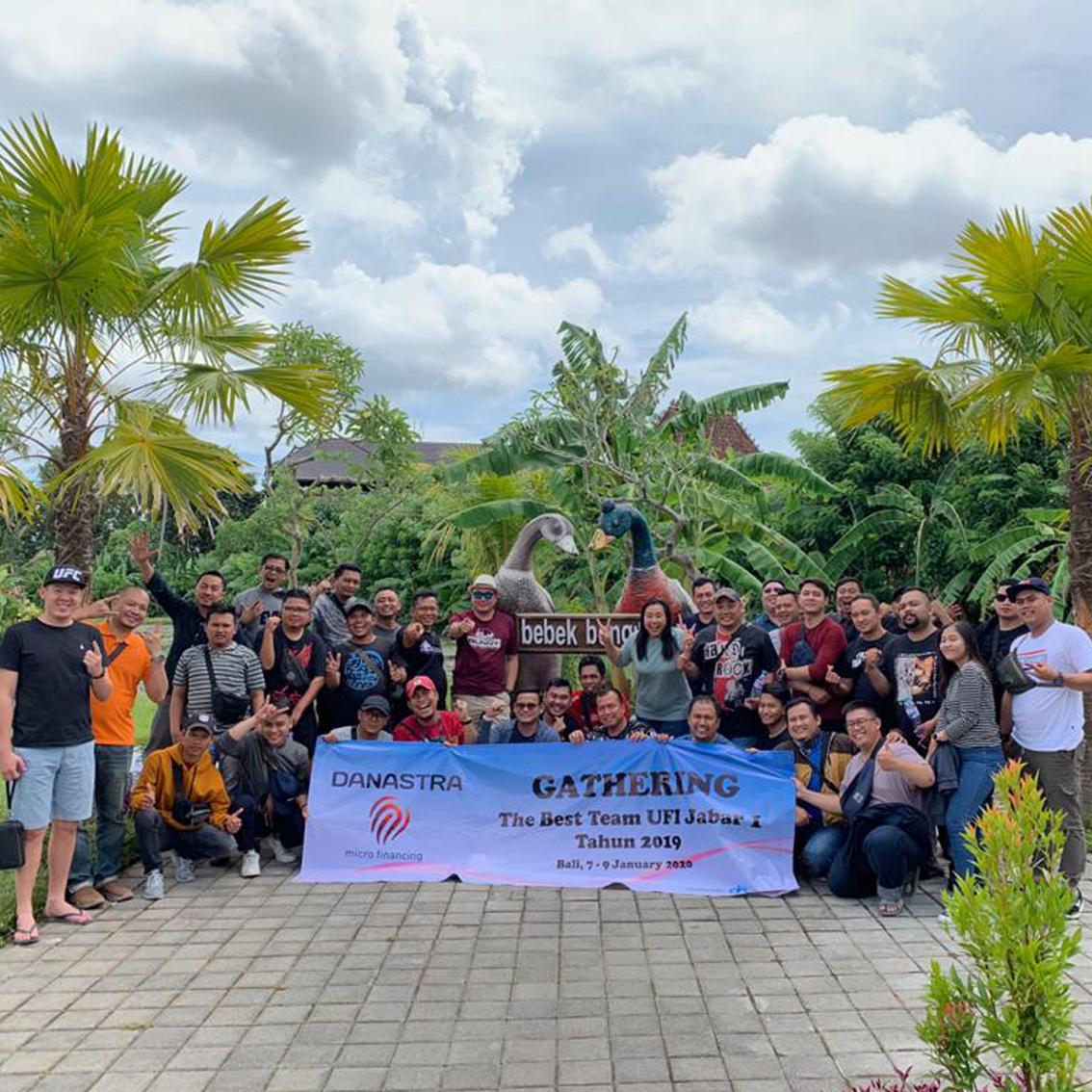 Acara Gathering Danastra Microfinancing di Bebek Bengil Ubud