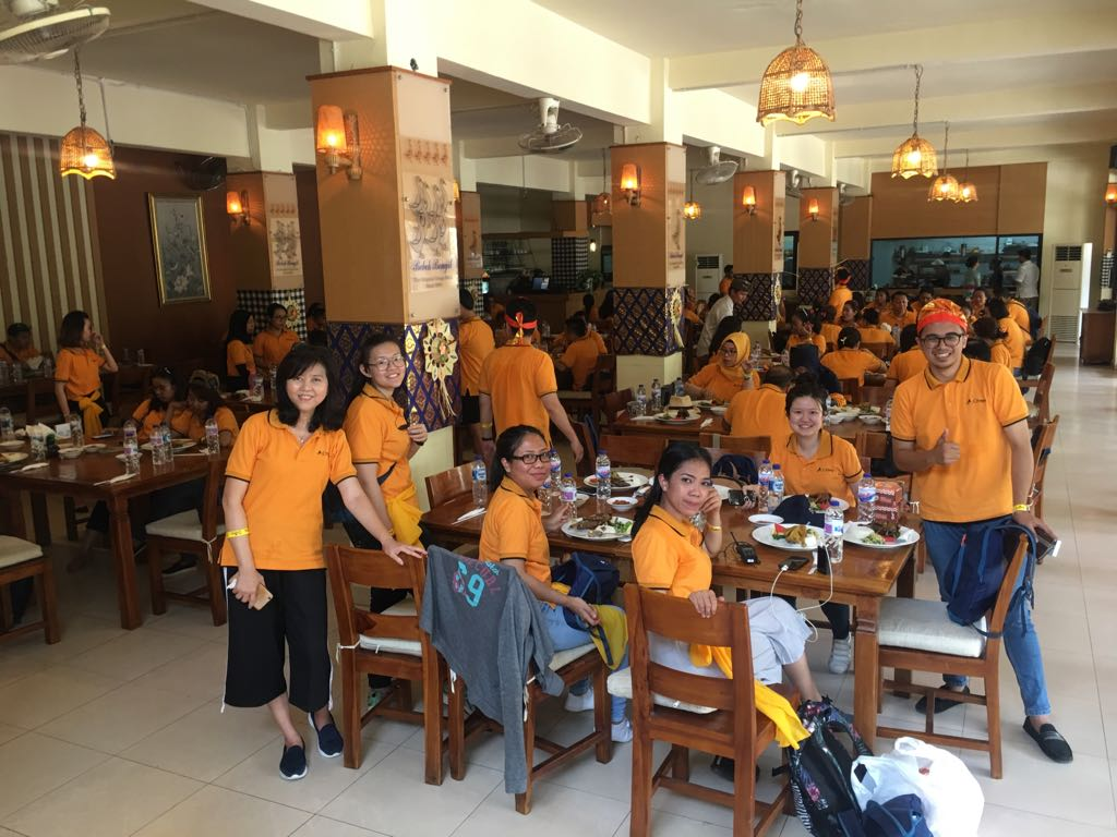 Lunch Group Crowe Indonesia Jakarta at Bebek Bengil GWK