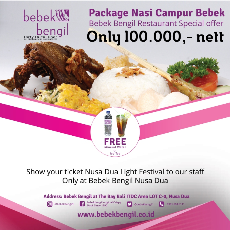 Promo Nusa Dua Light Festival Square